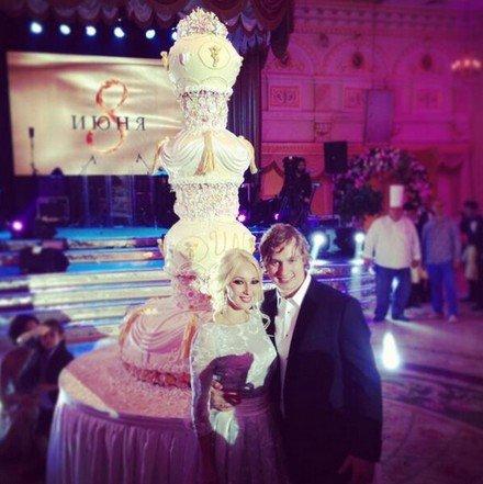 свадьба лери торт