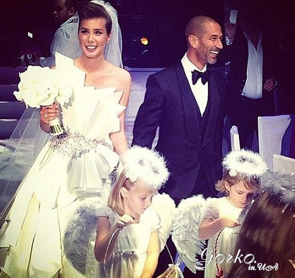 Свадьба кэти топурия и льва гейхман фото