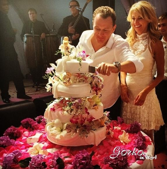 свадьба башарова торт